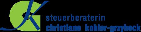 Logo Steuerberaterin Christiane Kohler-Grzybeck